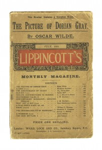 Cubierta de la revista Lippincott's Monthly Magazine, en la que se publicó por primera vez The picture of Dorian Gray.